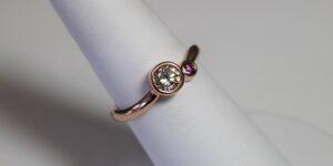 custom jewelry in racine county, jewelers bench, rings in racine county