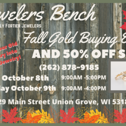 Fall Gold Buying Event Postcard (2) Sides